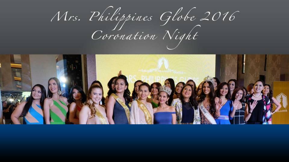 Mrs. Philippines Globe 2016