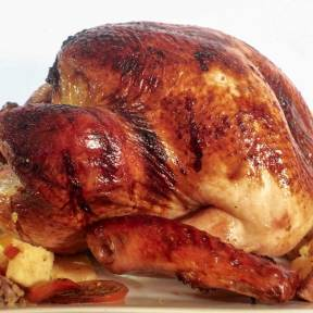 Guevarra's Yuletide / Christmas Roasted Stuffed Turkey