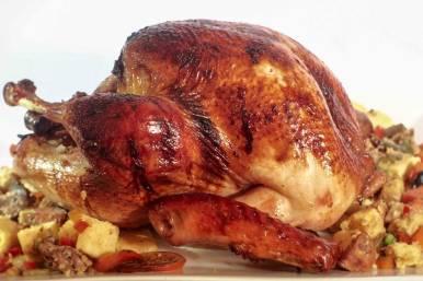 Guevarra's Yuletide / Christmas Roasted Stuffed Turkey
