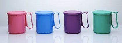 Tupperware Jumbo Mugs