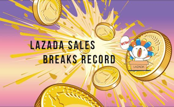 Lazada's record breaking sales