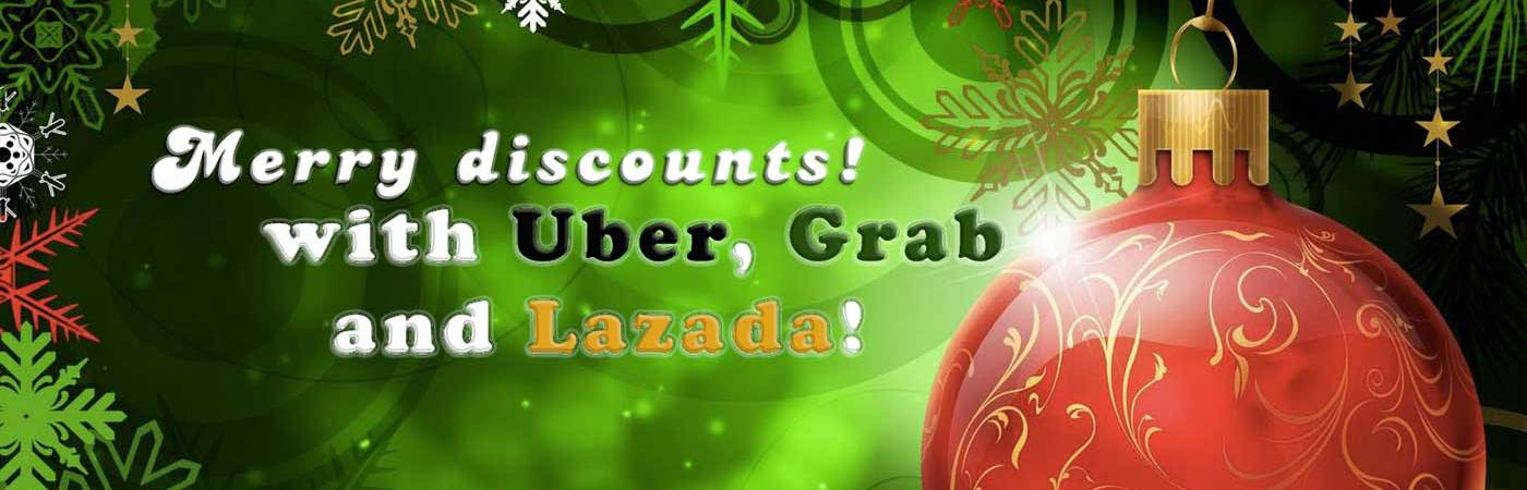 December 2016 grab, uber, lazada promo codes and voucher codes