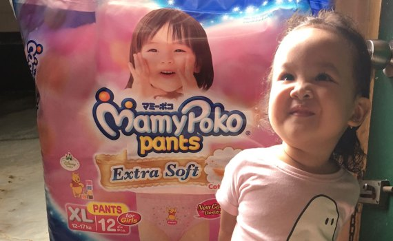Mamypoko Pants for Girls