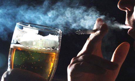 smoker drinker