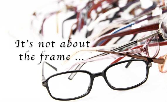 it's not about the frame