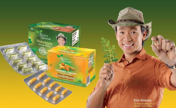 Kuya Kim Atienza endorses Atienza Naturale Malunggay, the Wonder Gulay