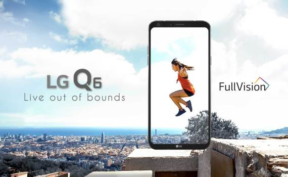 LG Q6 Full Vision photo taken from LG.com