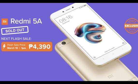 Xiaomi Redmi 5A sold out!