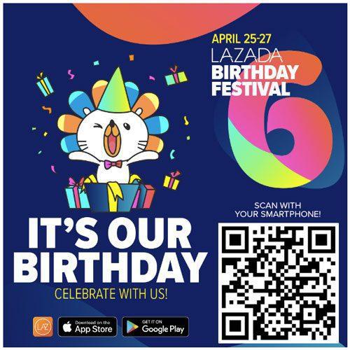 6th lazada birthday