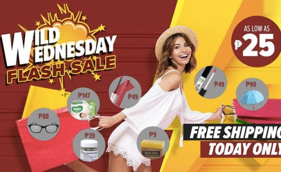 Lazada Wild Wednesday