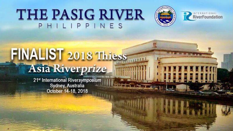 Asia Riverprize 2018 finalist
