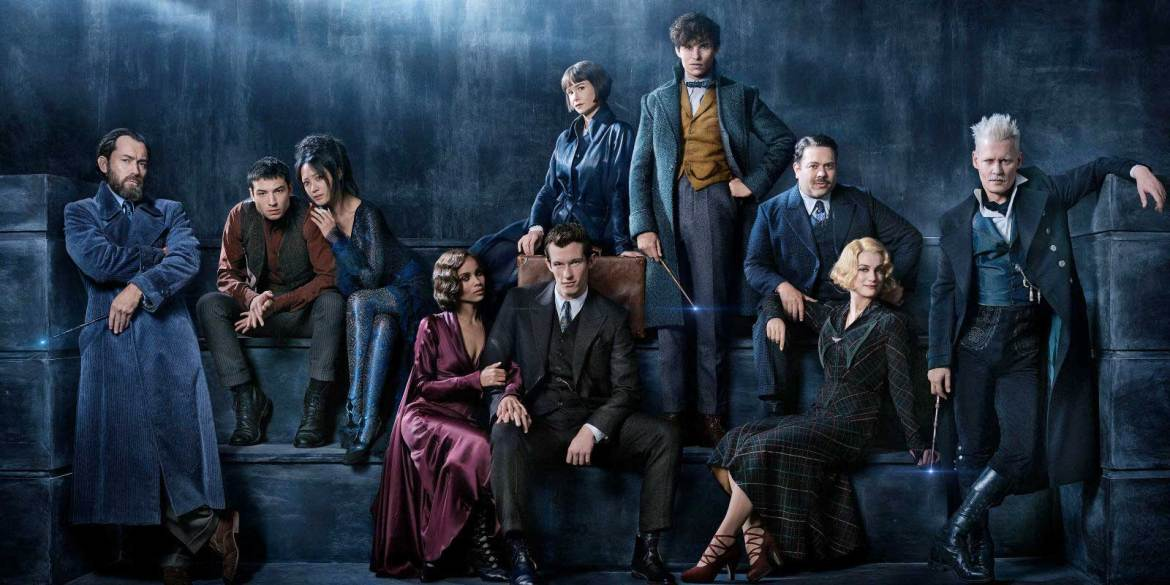 The cast of Fantastic Beasts 2: The Crimes of Grindelwald