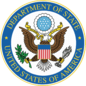 Department of State, USA logo