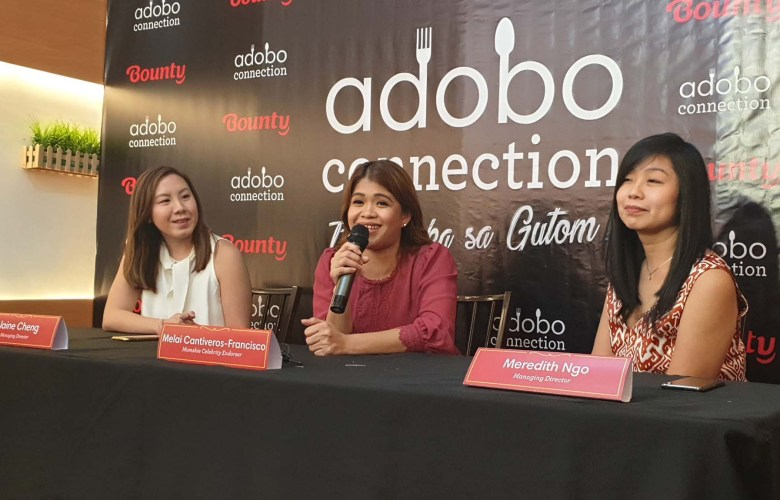 Melai Cantiveros-Francisco is the new brand ambassador of Adobo Connection