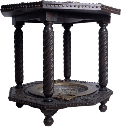 Two-tiered brazier