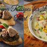 Tuna Recipes for Lent Part 4: Italy and U.S.