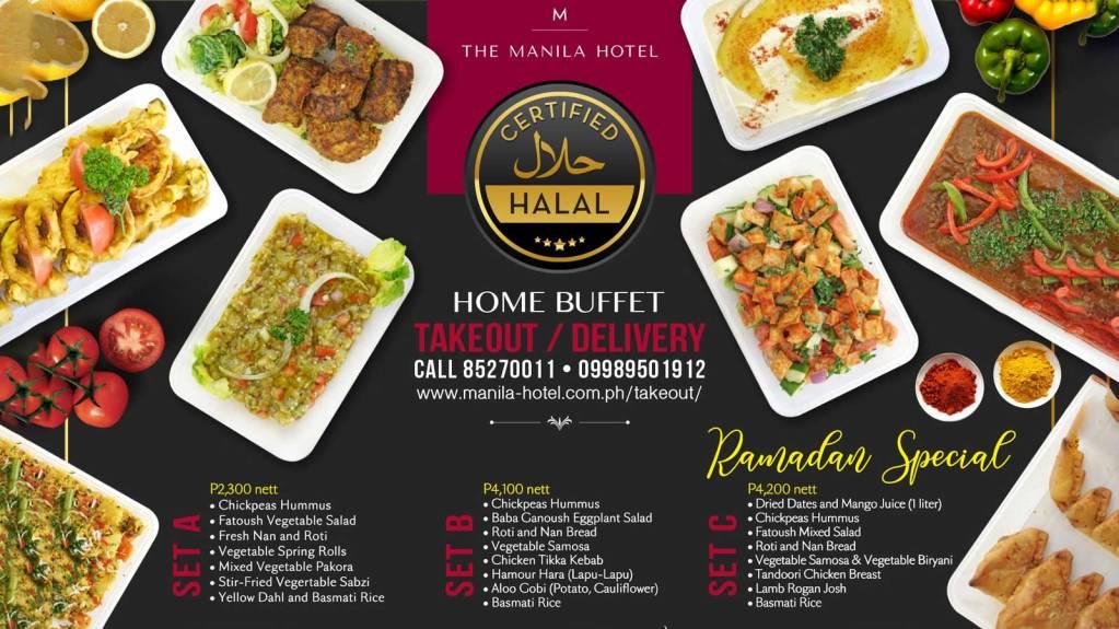 Manila Hotel Certified Halal Buffet