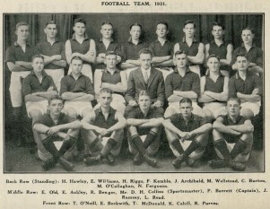Albany High School (Boronia) Dec. 1931