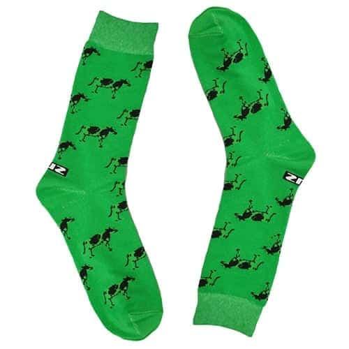 green socks