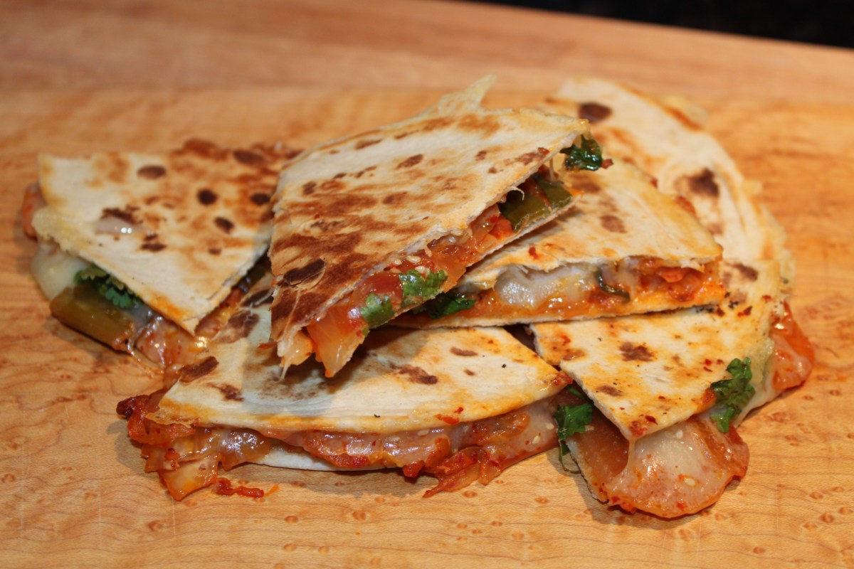 Kimchi Quesadillas – sly rooster