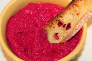 Beet and Goat Cheese Dip