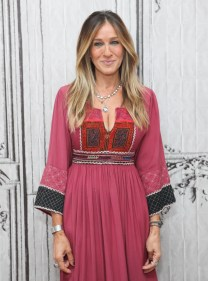 "NEW YORK, NY - OCTOBER 06: Actress Sarah Jessica Parker attends the Build Series to discuss her new show ""Divorce"" at AOL HQ on October 6, 2016 in New York City. (Photo by Steve Zak Photography/FilmMagic)"