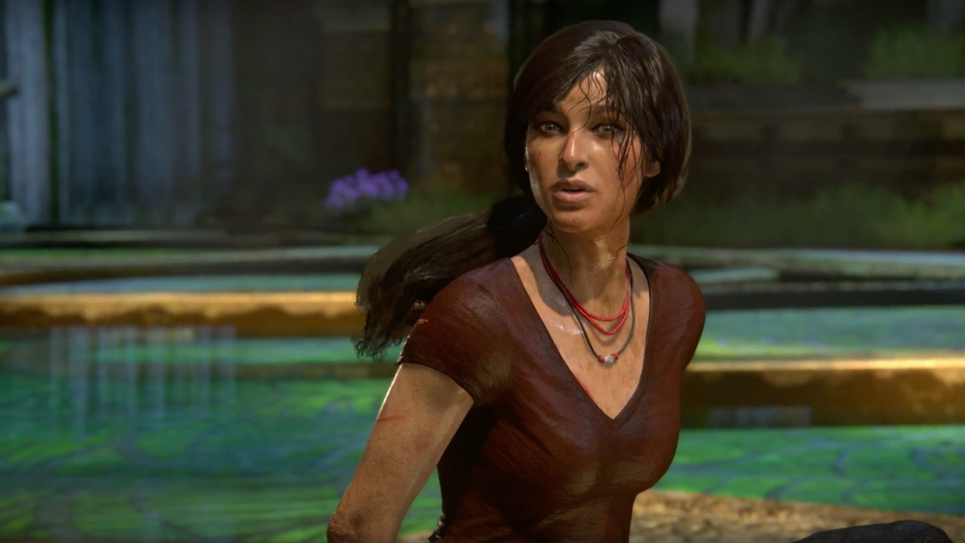 Image result for uncharted the lost legacy 1920x1080 facial expressions