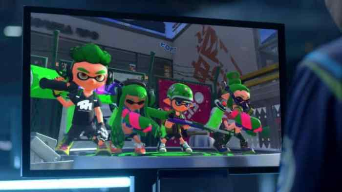 Image result for splatoon Switch