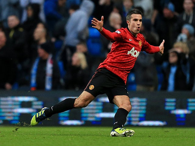 Image result for Man City 2-3 Man Utd, December 2012