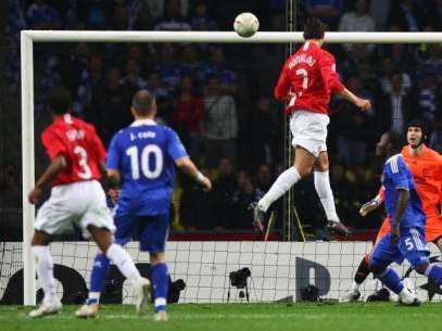 Image result for cristiano goal 2008 ucl final