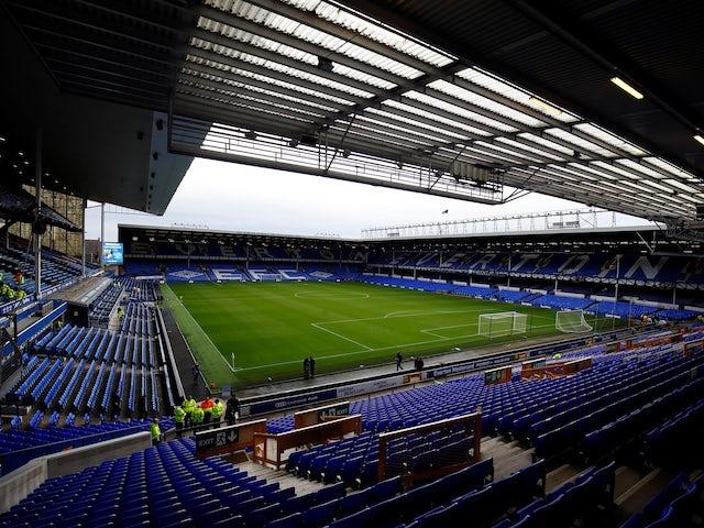 General view inside Everton's Goodison Park on November 3, 2018