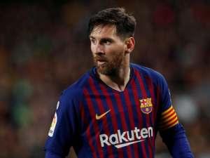 Lionel Messi in action for Barcelona on November 11, 2018