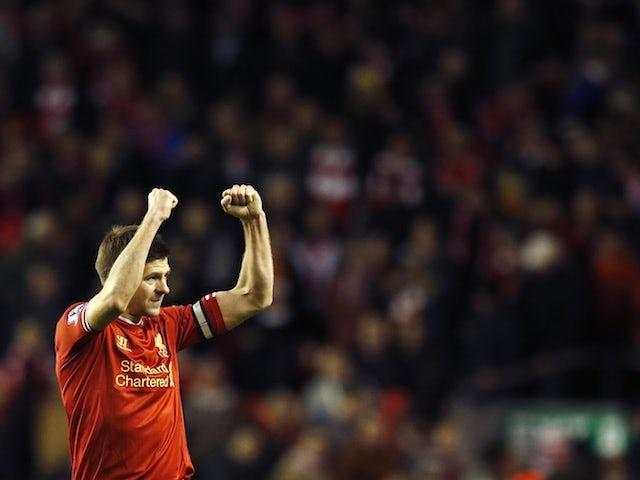 Steven Gerrard pictured in 2014