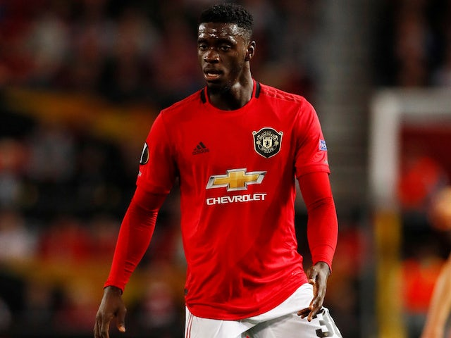 Axel Tuanzebe in action for Manchester United on 19 September 2019
