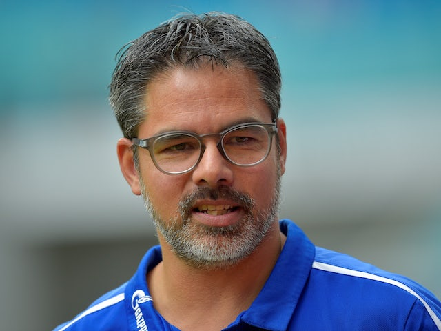 David Wagner in charge of Schalke on September 28, 2019