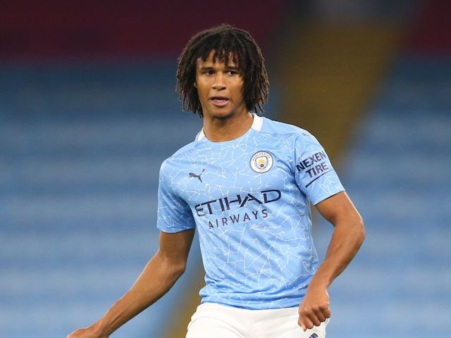 Manchester City defender Nathan Ake pictured in October 2020