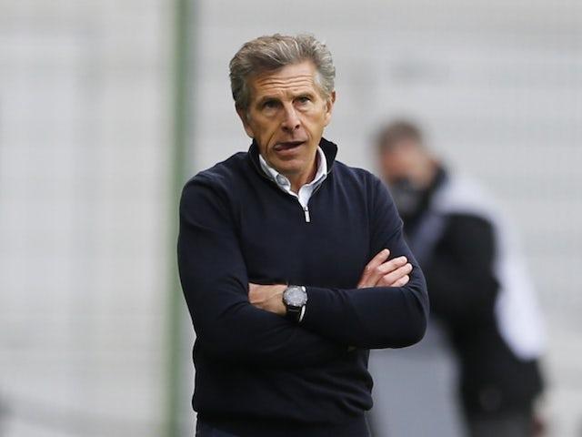 Главный тренер Сент-Этьена Клод Пюэль на фото в октябре 2020 года