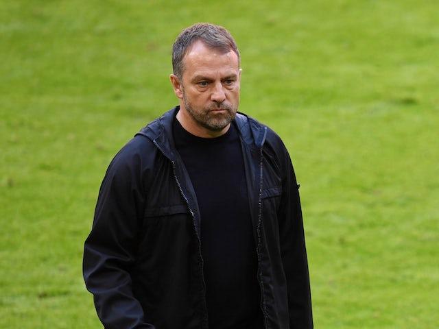 Bayern Munich manager Hansi Flick pictured on April 10, 2021