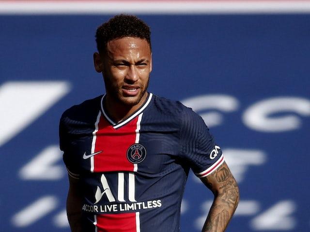 Neymar in Aktion für PSG am 3. April 2021