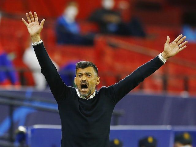 Porto coach Sergio Conceicao pictured on April 7, 2021