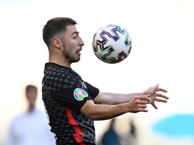 Josip Juranovic pictured for Croatia in June 2021