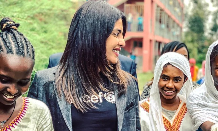 After Cannes, Priyanka Chopra Is On A Special Trip To Ethiopia For UNICEF