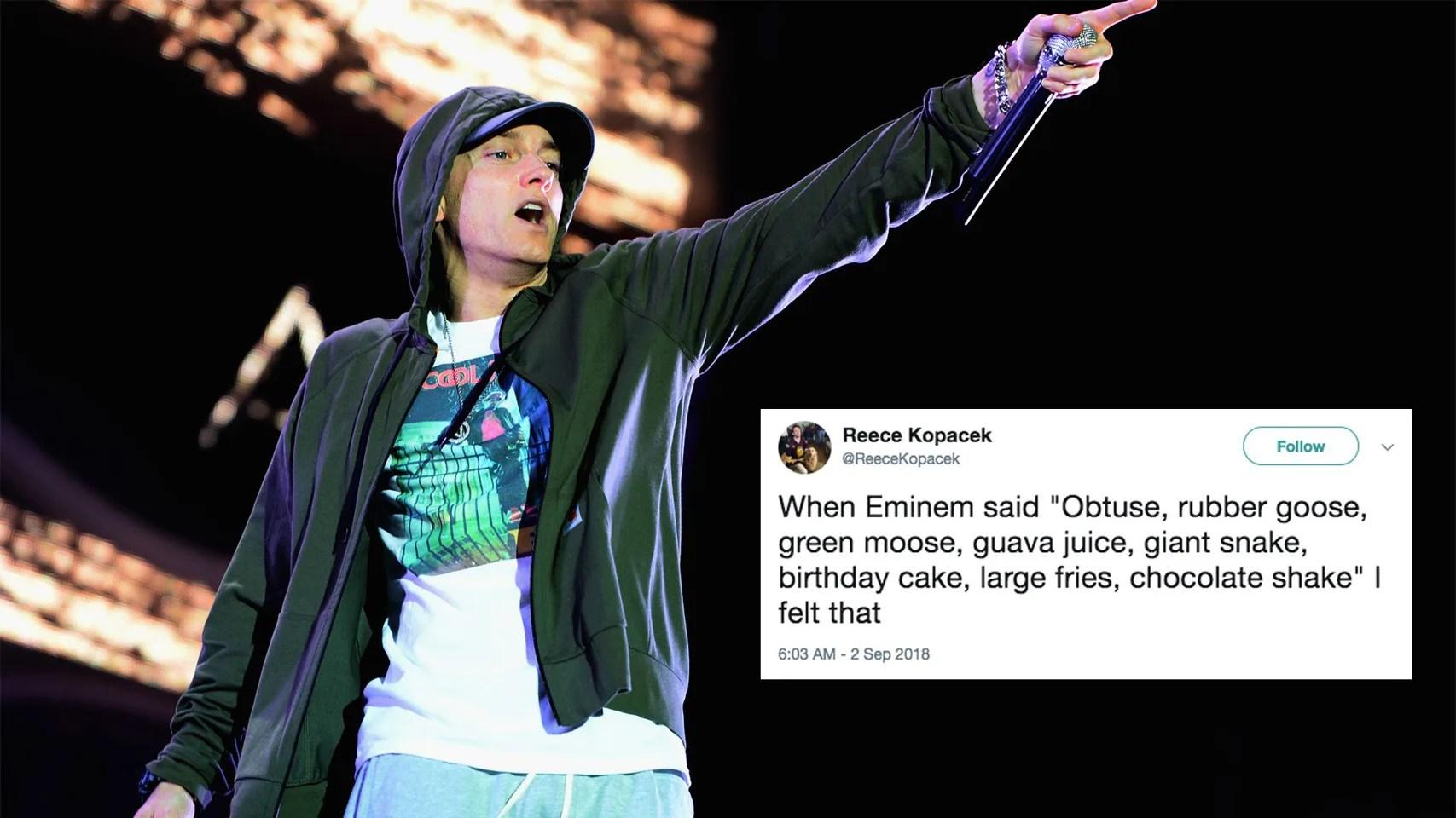 The Internet Thinks Eminem S Lyrics Sound Like The Fairly Oddparents Theme Song Culture