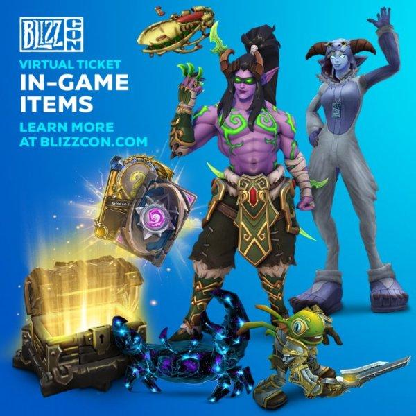 Blizzcon 2019 Virtual Ticket Detail Announced