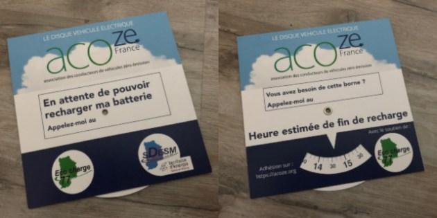 Disque de recharge ACOZE FRANCE ECOCHARGE SDESM 77