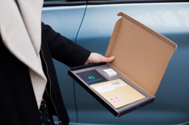 Kit de contrôle de l'état de la batterie envoyé à un client