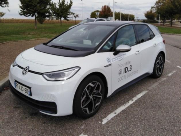 VW ID.3 vue extérieure
