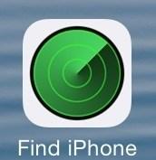iPhoneを探すアプリ画像