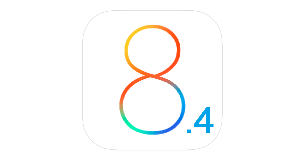 iOS8.4ロゴ画像