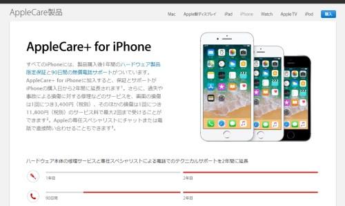 AppleCare+画像